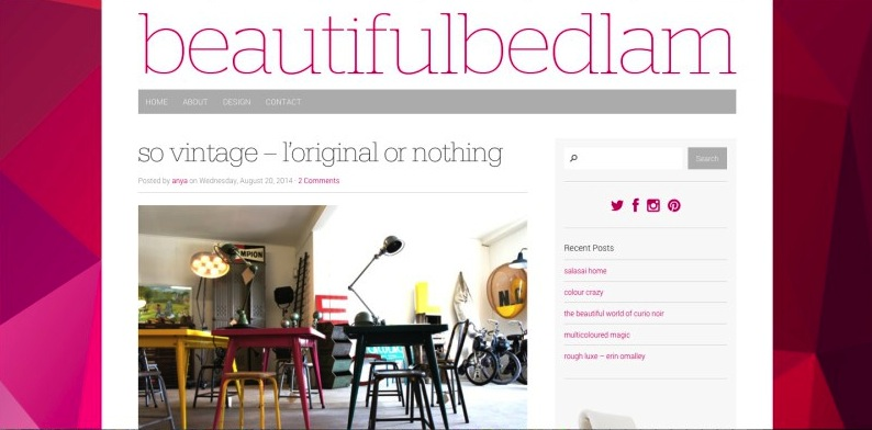 beautiful bedlam blog article