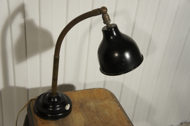 Old Brass Industrial Lamp