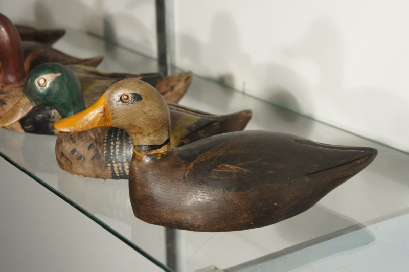 Vintage Wooden Duck Decoys