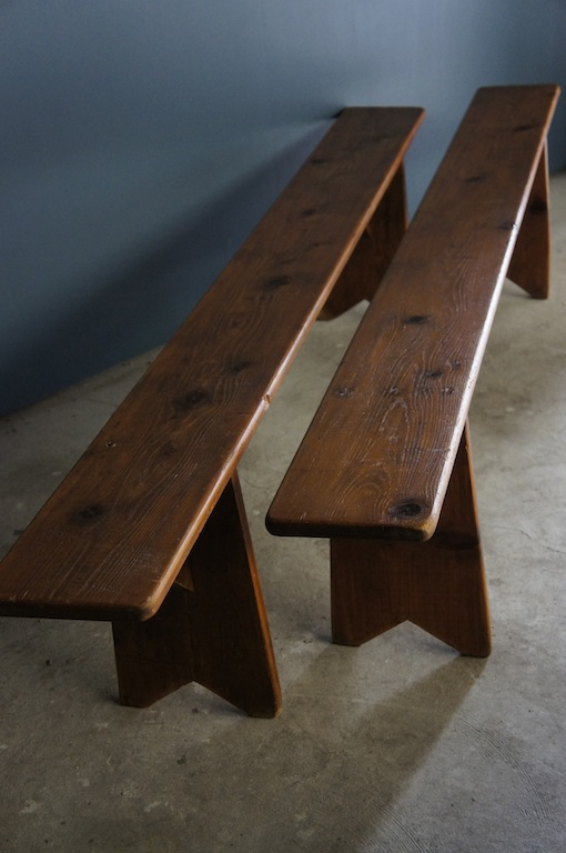Sold Old French Wooden Bench Seat