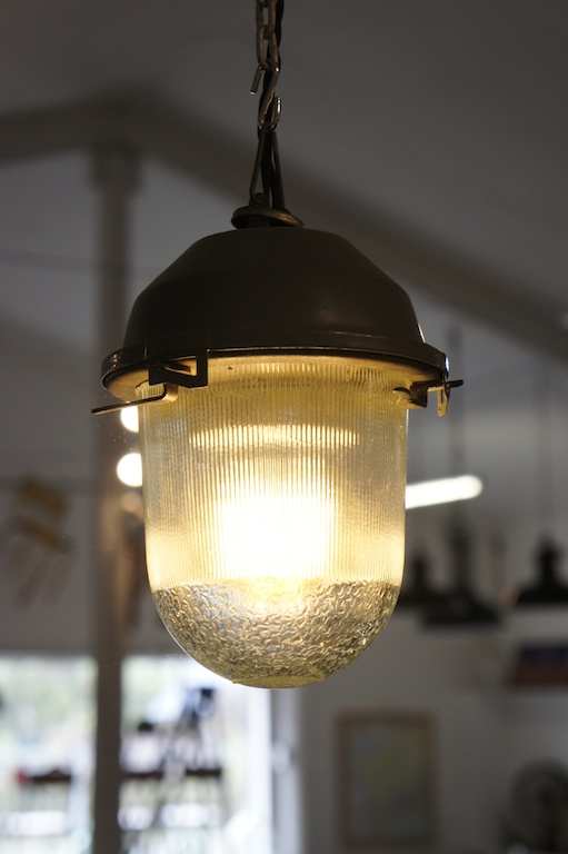 lighting small industrial glass factory pendant lights