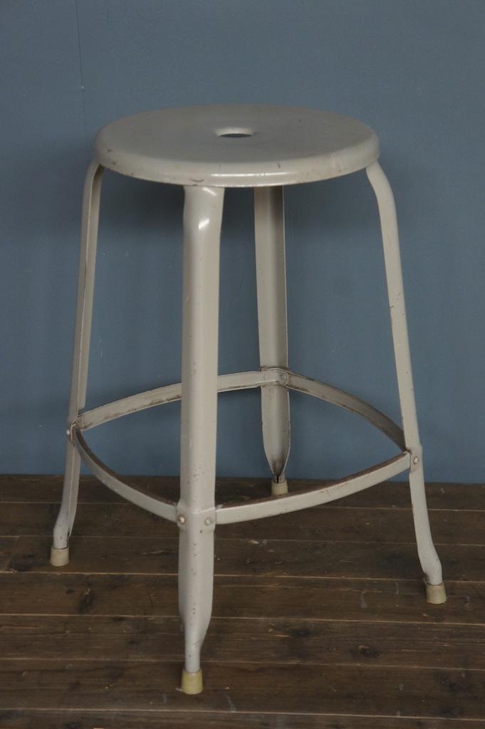 iconic collection c1950 39 s original nicolle stool 60cm. Black Bedroom Furniture Sets. Home Design Ideas