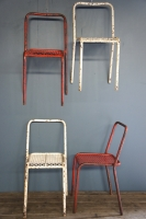 1950s-metal-stackable-chairs-rene-malaval-french-cafe-seating-industrial-nz