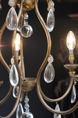 french-chandelier-crystal-vintage-light-nz-1