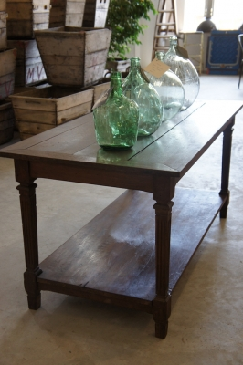 old-french-drapers-table-vintage-antique-wooden-console-nz-3