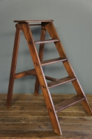 old-ladder-vintage-stepladder-wooden-rustic-step-ladder