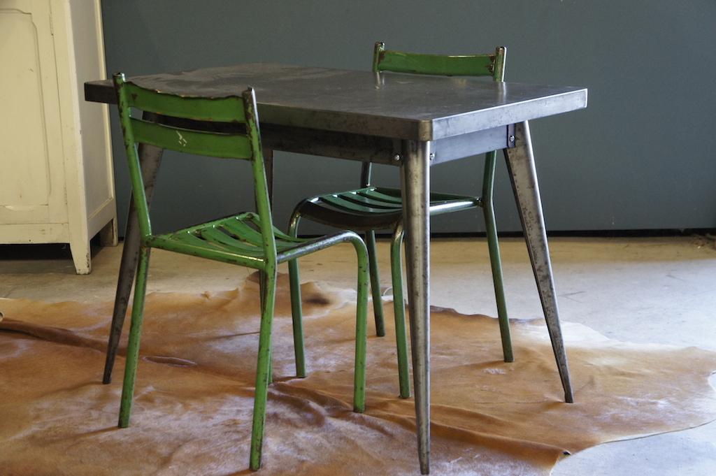 Tables original tolix t55 table for Table exterieur tolix