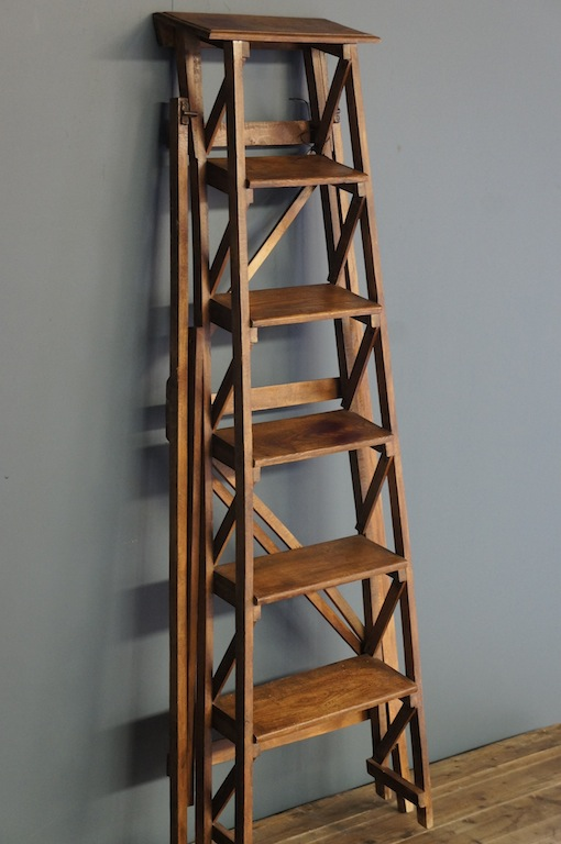 Sold Gorgeous French Wooden Ladder